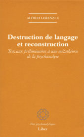 Destruction de langage et reconstruction